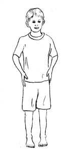 how to draw a little person